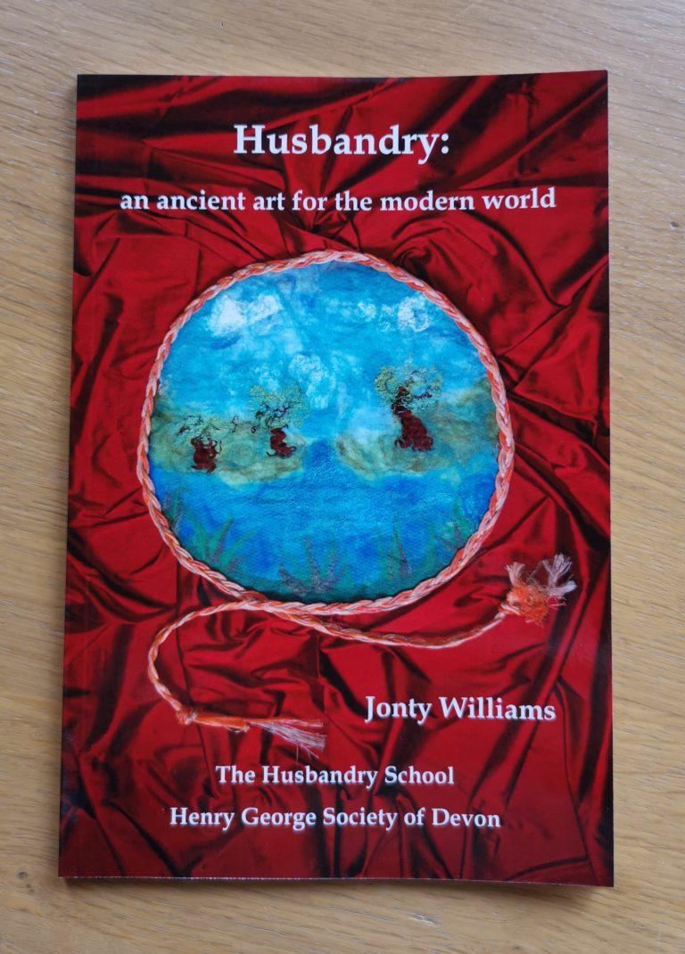 Husbandry by Jonty Williams book cover